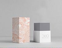 Box design and moodboard for cosmetics company
