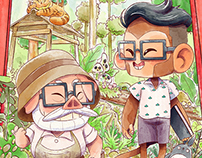 Miya san and me
