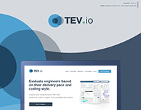 TEV.io - Infographic and Web Design