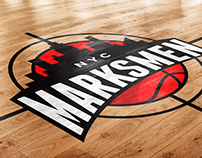 Identity/Brand Package: Marksmen Basketball