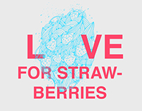 Love for strawberries