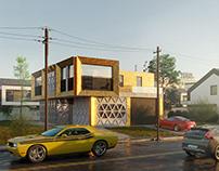 Concept house | CGI