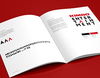 Kimbo Entertainment / corporate identity