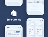 Nibash Smart Home - User Interface Design