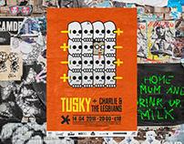 Tusky x Charlie & the Lesbians | Podium Asteriks