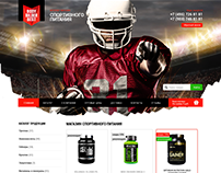 Shop of sports nutrition