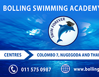 Bolling Swimming Academy - Banner Artwork & Printing