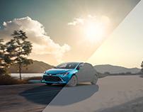 Toyota Corolla - Lake Garda & Barcelona - Full CGI