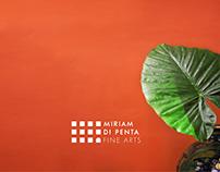 Miriam Di Penta Fine Arts Brand Identity