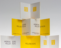 Müller & Fuchs Architects – Business Cards