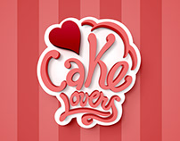 "Logo ""Cake Lovers"""