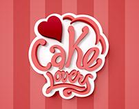 "Logo ""Cake Lovers"""