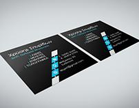 Civil engineer business card