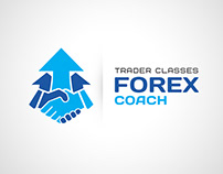 Trader classes success creativity logotype icon лого