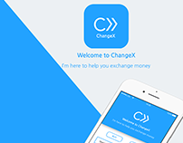 ChangeX- Mobile App Design