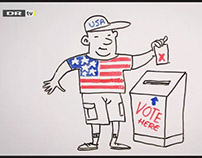 Whiteboard films, US election 2016 (Danmarks Radio)