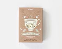 PEACOCK RICH MILK TEA Packaging