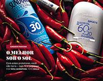 Revista Alfa • Protetor Solar