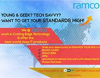 Ramco Systems | Poster and Twitter Head Designs