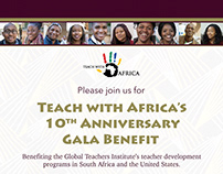 Invitation for Teach With Africa