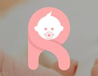 nameRnewborn logo + landing page design