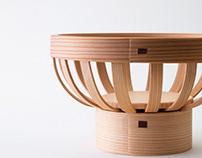 Rosette Basket