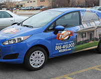 Feldco Car Wrap