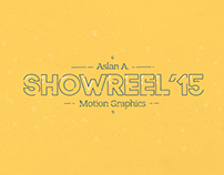 Motion Graphics Showreel 2015