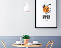 Panini Durini coffee shop posters
