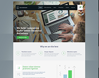 Byteknight Creations | Accounting Dynamic Website Desig