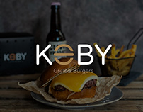 Koby Grilled Burgers Virtual Kitchen Barcelona.