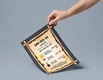 Bam-Boo-Ba Flyer Design