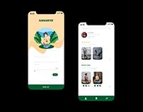 Namaste App Landing Page