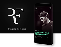 ROGER FEDERER | Website Redesign