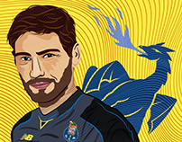 Iker Casillas Digital Art.