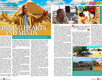 Mandela's Grandson - Drum magazine spread
