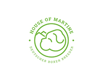 House of Martine - Brand Identity and Motion Logo