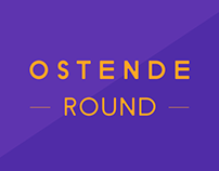 Ostende Round Typeface of 12 Fonts.