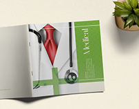 Medical Square Portfolio Brochure Template