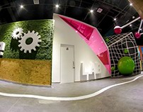 TOOT Children Science Lab-- interior design