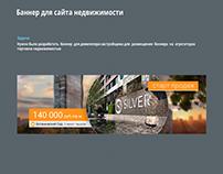Banner for real estate website