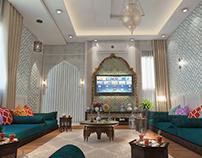 Moracco modern style Majls Arab