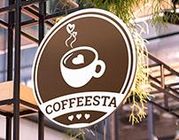 Coffeesta Logo Design Concept