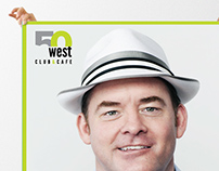 Club 50 West Comedy Posters