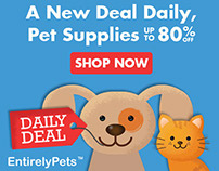 Entirely Pets.com Web Promos