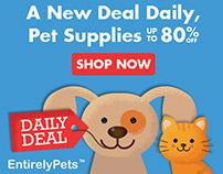 Entirely Pets.com Web Promos