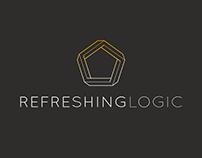 Refreshing Logic: Brand Logo
