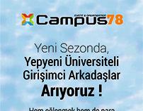 Campus78 Tanıtım Broşür Çalışması