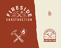 Fireside Construction | Brand Identity