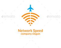 Network Speed Logo